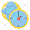 World And Time Icon
