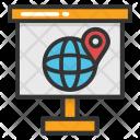 World Atlas Flip Icon