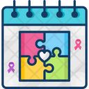 World Autism Awareness Day Day Event Icon