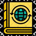 World Book Global Book Global Knowledge Icon