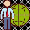 World Business World International Icon