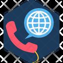 World Calling Icon