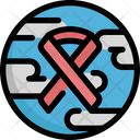 Cancer World Earth Icon