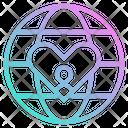 World Charity Donation Icon