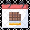 Chocolate Food Calendar Icon
