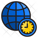 World Clock Clock Watch Icon
