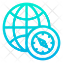 World Compass Icon