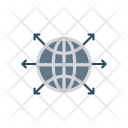 World Connection Icon
