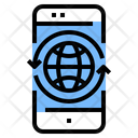 World Connection Internet Connection Global Connection Icon