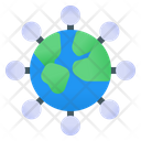 World Connection Global Connection Phone Icon