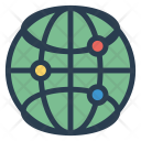 Connection World Globe Icon