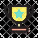 Trophy Winner Gold Icon