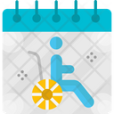 World Day Of The Handicapped Day Event Icon