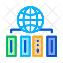 World Distribution Digital Icon