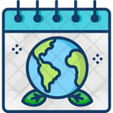 World Earth Day Day Event Icon