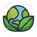 World Earth Eco Icon