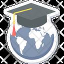 World Education Classroom International Classroom Icon