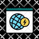 Earth Day Color Icon