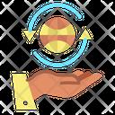 World Hand Icon