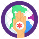 Global Healthcare World Healthcare World Health Day Icon