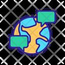 World Internet Communication Icon