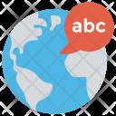 Global Language World Icon