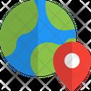 World Location Global Location International Location Icon