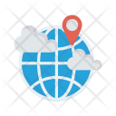 World Location Pin Icon