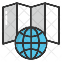 World Map Atlas Icon