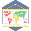 World Map Location Icon