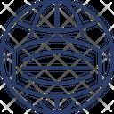 World Mask Icon
