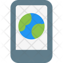 World Mobile Icon