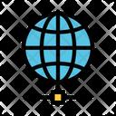 World Globe Network Icon