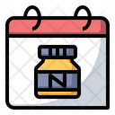 Nutella Food Calendar Icon