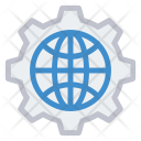Optimization World Setting Icon