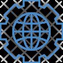 World Optimization Globe Icon