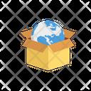 Box Carton World Icon