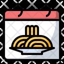 World pasta day Icon