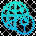 International Location Location Pointer World Location Icon