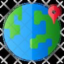 World Pin Icon