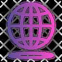 World Place World Global Icon