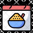 Porridge Nutrition Food Icon