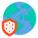 World Protection Earth World Icon