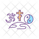 Religion World Global Icon