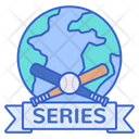 World Series Baseball Tournament World Icon