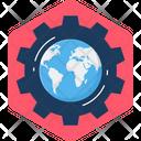 World Setting Global Icon