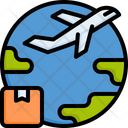 World Shipping Worldwide Global Icon