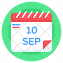 Suicide Day Calendar Suicide Day Date World Suicide Day Icon