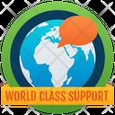 World Support Badge Reward Marker Icon