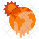 Global Warming Climate Icon